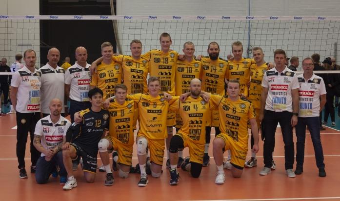 Uutiset - Savo Volley Nousi Upeasti Kolmen Pisteen Voittoon | Savo Volley
