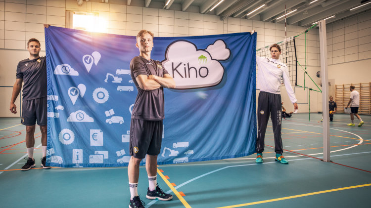 Niklas Breilin Savo Volleyn liberoksi